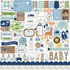 """Sticker 12"""" x 12"""" - Baby Boy"""