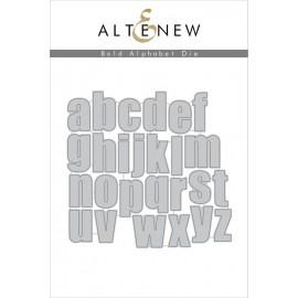 Bold Alphabet Die Set - Fustella di Altenew