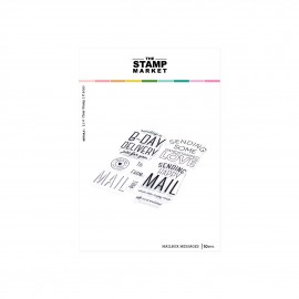 Mailbox Messages Stamp Set - Timbro di The Stamp Market