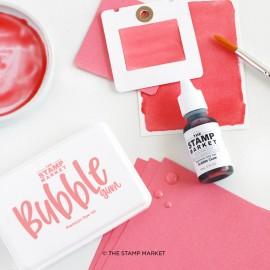 Premium Dye Ink Pad -  Bubble Gum