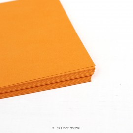 Cardstock - Melon Orange