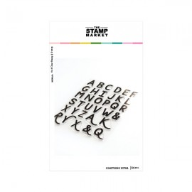 Something Extra  Alphabet  - Timbro di The Stamp Market