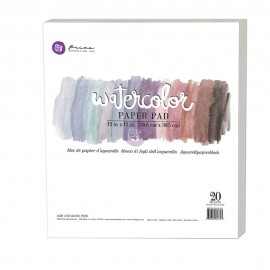 Art Philosophy Watercolor 12x12 Inch Paper Pad