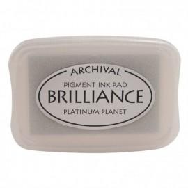 Brilliance ink pad platinum planet