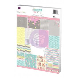 "Carta per scrapbooking di Prima Marketing formato A4 ""Hello Pastel"""