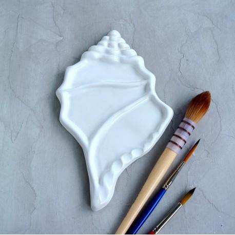 Tavolozza in ceramica - Strombus