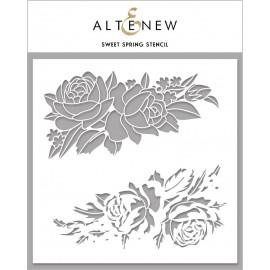 Sweet Spring Stencil di Altenew