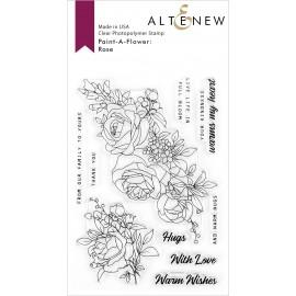 Paint-A-Flower: Rose - Timbri di Altenew