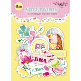 "Ephemera - Abbellimenti di carta ""Sweet Girls"""