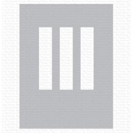 """Stencil di  MFT  - """"Rectangle Trio Stencil"""""""