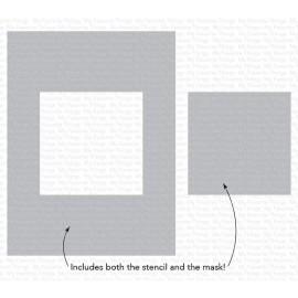"""Stencil di  MFT  - """"Square Extraordinaire"""""""