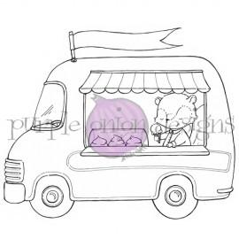 Ice Cream Truck - Timbro di Stacey Yacula Studio
