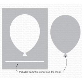 "Stencil di  MFT  - ""Big Balloon"""