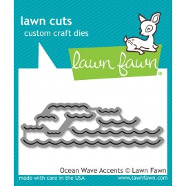 Ocean Wave accents - Fustelle Lawn Fawn
