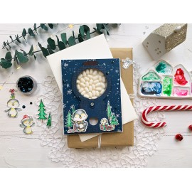 "Corso online di cardmaking ""Christmas cards"""