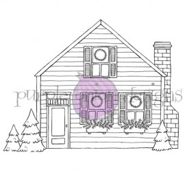 Cozy Holiday Home - Timbro di Stacey Yacula Studio