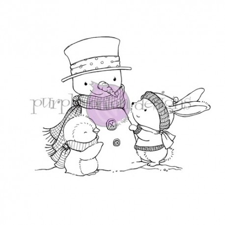 Sweet Snow Friends  - Timbro di Stacey Yacula Studio