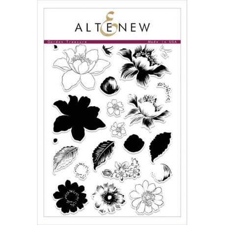 Garden Treasure Clear Stamps - Timbro di Altenew