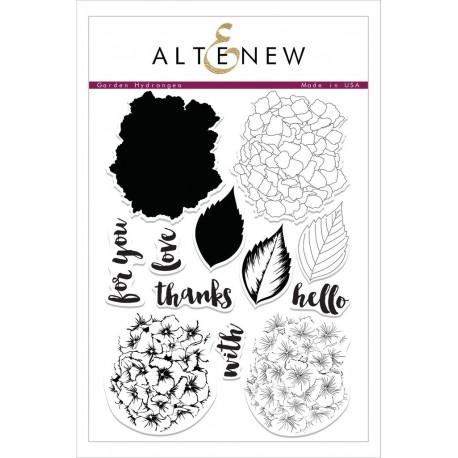 Garden Hydrangea Stamp Set - Timbri Altenew