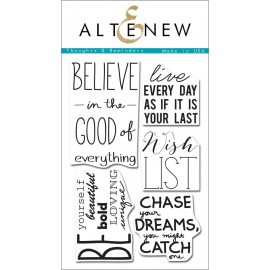 Set di timbri Thoughts & Reminders Stamp Set