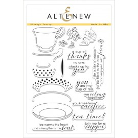 Vintage Teacup Stamp Set - Timbro di Altenew