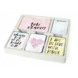 Kit 616 carte - Inspire edition di Project Life