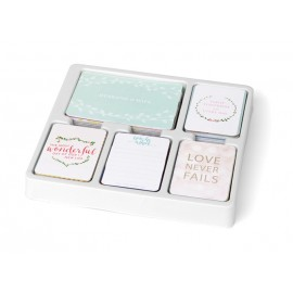 Kit 616 carte - Southern Weddings edition di Project Life