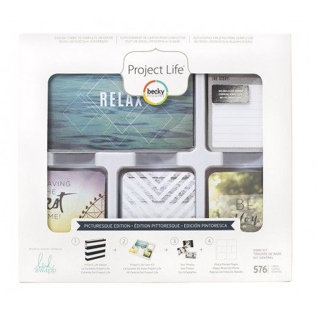 Kit 576 carte - Picturesque edition di Project Life