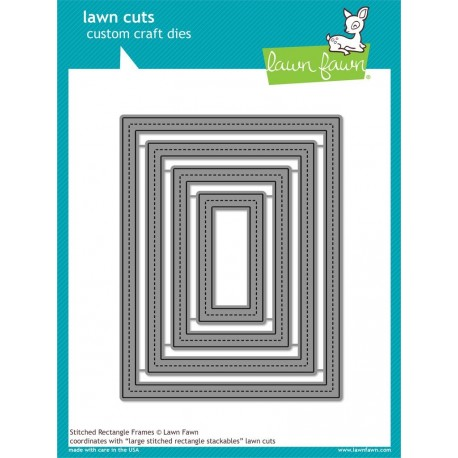 Stitched Rectangle Frames - Fustelle Lawn Fawn
