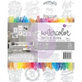 Coloring Book Vol. 2 - Album da colorare per adulti ad acquerelli