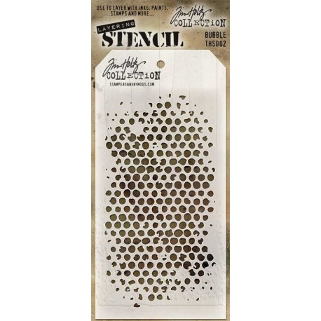 Stencil Tim Holtz - Bubble