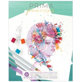 Coloring Prima Princesses Book 1 - Album da colorare per adulti ad acquerelli