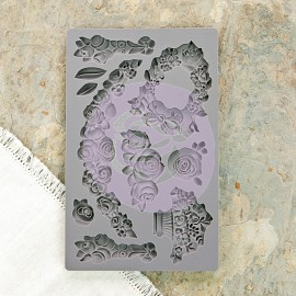 IOD Decor Mold - Fleur