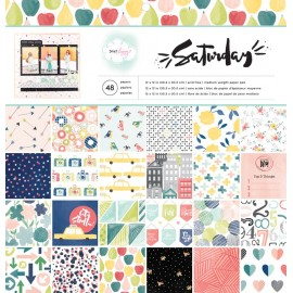 "Blocco di carte per Scrapbooking  - ""Saturday"""