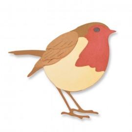 Little Robin - Fustella Sizzix Thinlits
